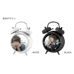 オリジナルボイス目覚まし時計(WHITE&BLACKセット)